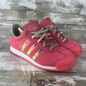 Girls adidas shoes pink size 3